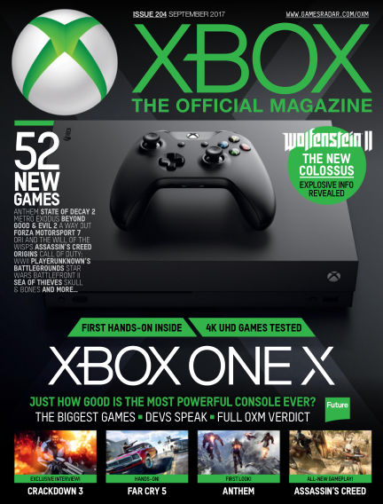 Official Xbox Magazine (US) July 25, 2017 00:00