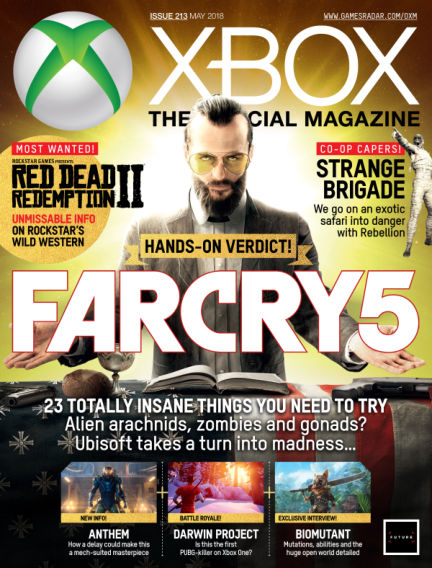Official Xbox Magazine (US) April 03, 2018 00:00