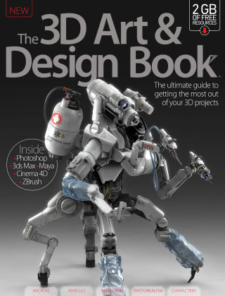 The 3D Art & Design Book Volume 4