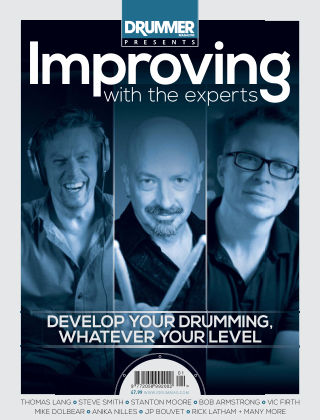 Drummer presents Improving