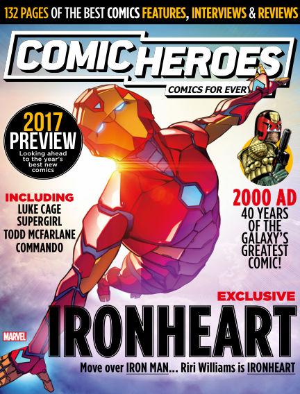 Comic Heroes UK January 10, 2017 00:00