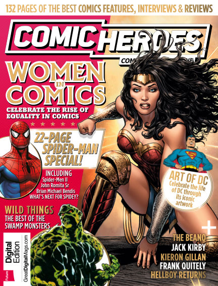 Comic Heroes UK July 18, 2017 00:00