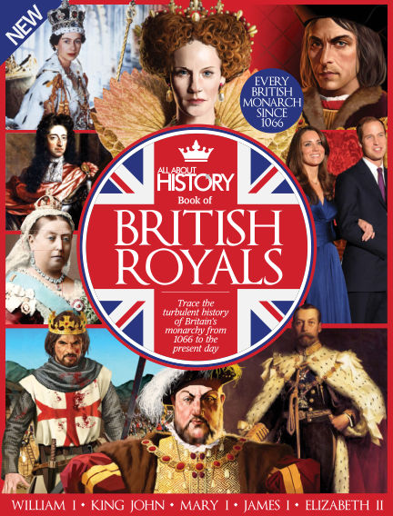 All About History Book of British Royals
