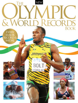 The Olympic & World Records Book 1st Edition