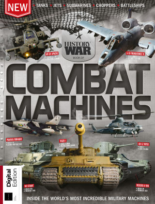 History of War Book of Combat Machines 5th Edition