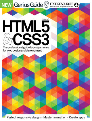 HTML5 & CSS3 Genius Guide Vol 3