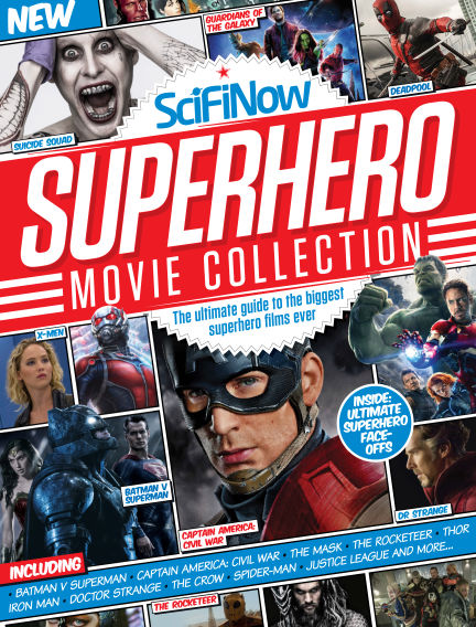 SciFiNow Superhero Movie Collection August 20, 2016 00:00
