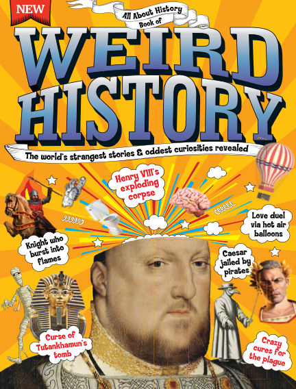 All About History Book of Weird History January 21, 2017 00:00
