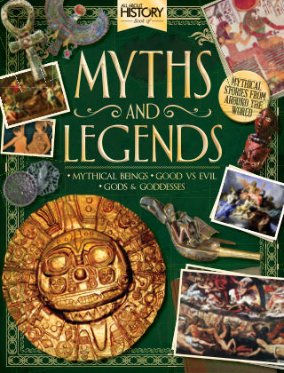 All About History Book Of Myths & Legends 1st Edition