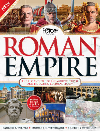 All About History Book Of The Roman Empire 1st Edition