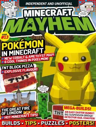 Minecraft Mayhem Issue 13