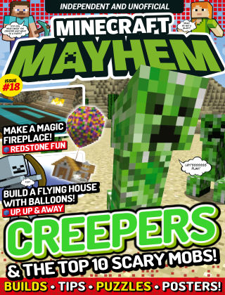 Minecraft Mayhem Issue 18 2017