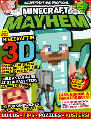 Minecraft Mayhem Issue 21