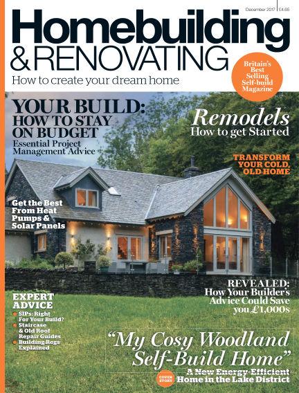 Homebuilding & Renovating October 26, 2017 00:00
