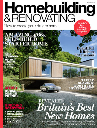 Homebuilding & Renovating January 2018