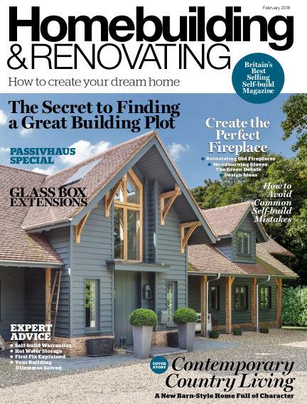 Homebuilding & Renovating December 28, 2017 00:00