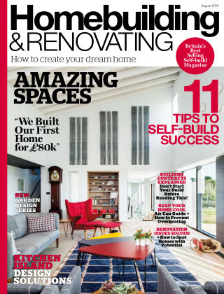 Homebuilding & Renovating August 2018