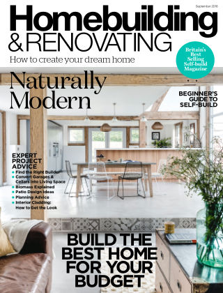 Homebuilding & Renovating September 2018
