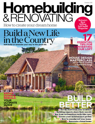 Homebuilding & Renovating October 2018