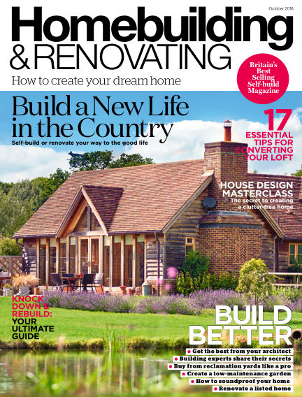 Homebuilding & Renovating August 30, 2018 00:00