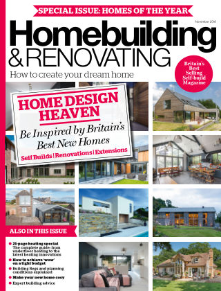 Homebuilding & Renovating November 2018