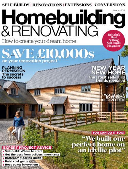 Homebuilding & Renovating December 28, 2018 00:00