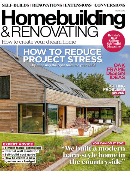 Homebuilding & Renovating January 31, 2019 00:00