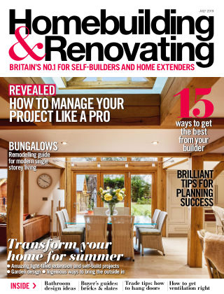 Homebuilding & Renovating Jul 2019