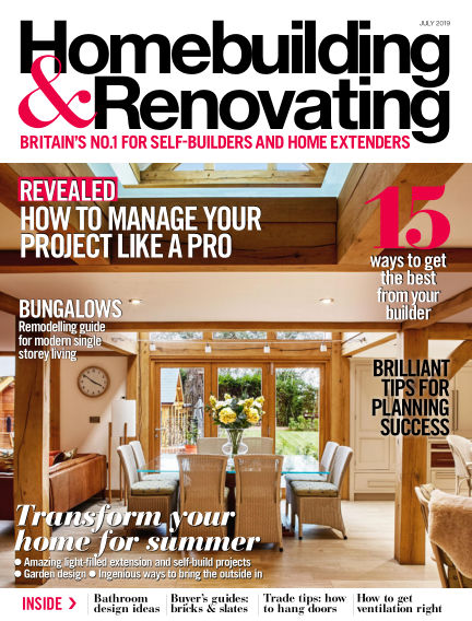 Homebuilding & Renovating May 30, 2019 00:00