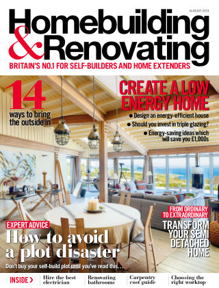 Homebuilding & Renovating Aug 2019
