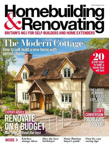Homebuilding & Renovating July 25, 2019 00:00