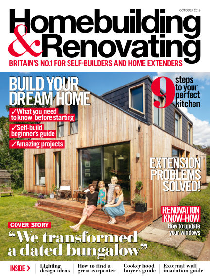 Homebuilding & Renovating August 29, 2019 00:00