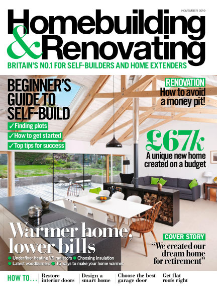 Homebuilding & Renovating September 26, 2019 00:00