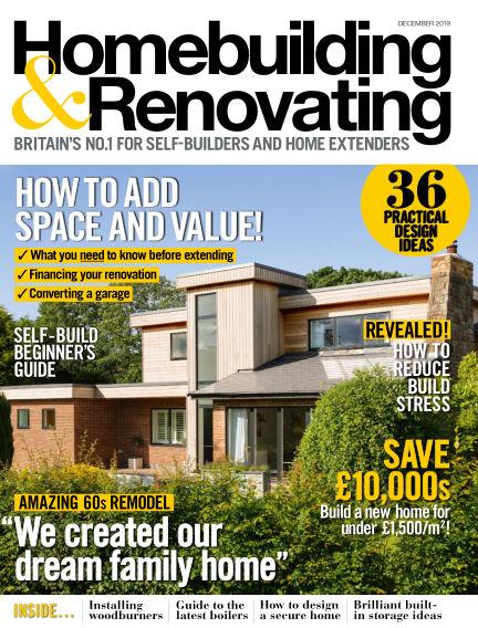 Homebuilding & Renovating October 24, 2019 00:00