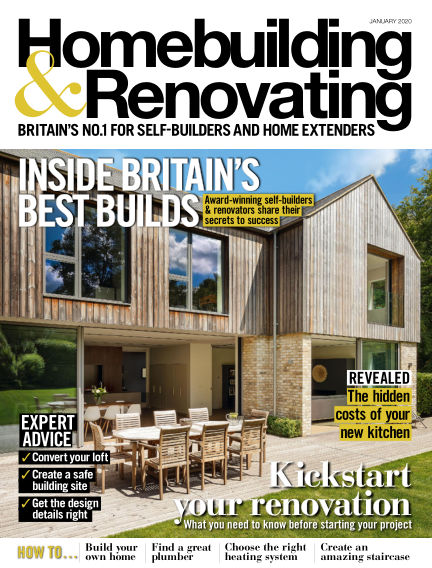Homebuilding & Renovating November 28, 2019 00:00
