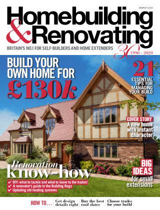 Homebuilding & Renovating Mar 2020