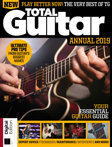 Total Guitar Annual November 30, 2018 00:00