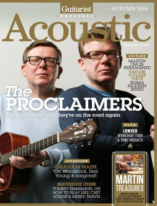 Guitarist Presents Acoustic Autumn 2018