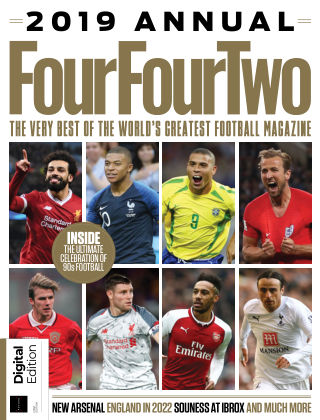 FourFourTwo Annual 2019 Edition