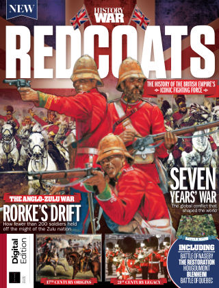 All About History - Book of the Red Coats 2nd Edition