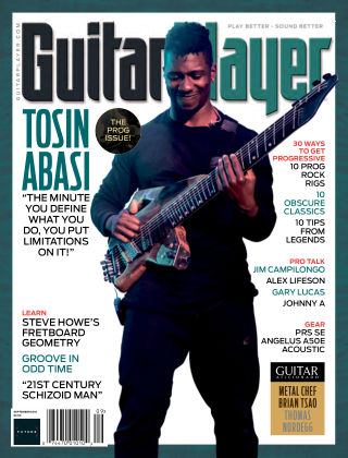 Guitar Player August 2018
