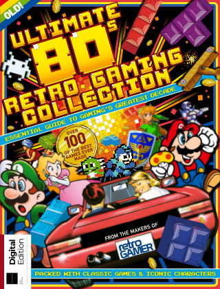 Ultimate 80s Retro Gaming Collection 1st Edition
