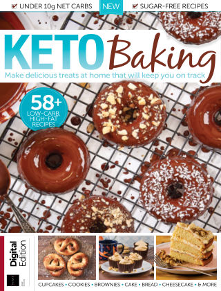 Keto Baking First Edition