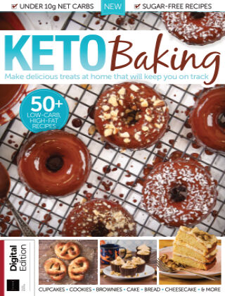 Keto Baking Third Edition