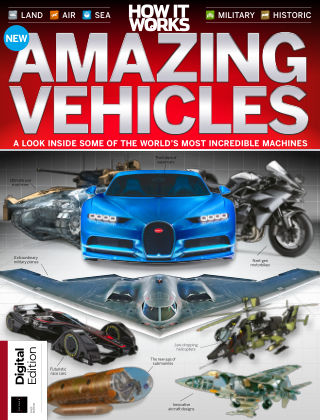 How it Works Book of Amazing Vehicles 8th Edition