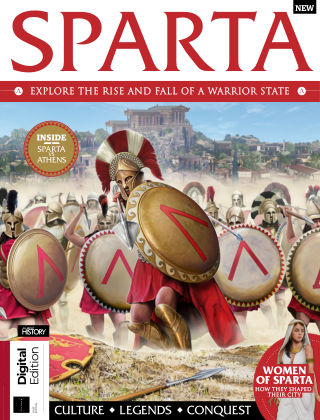 All About History Book of Sparta 1st Edition