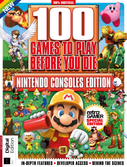 100 Nintendo Games to Play Before You Die