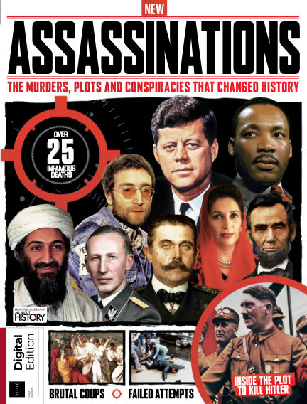 All About History Book of Assassinations March 04, 2020 00:00