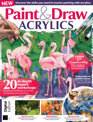 Paint & Draw: Acrylics 1st Edition