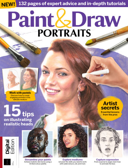 Paint & Draw: Portraits July 10, 2020 00:00